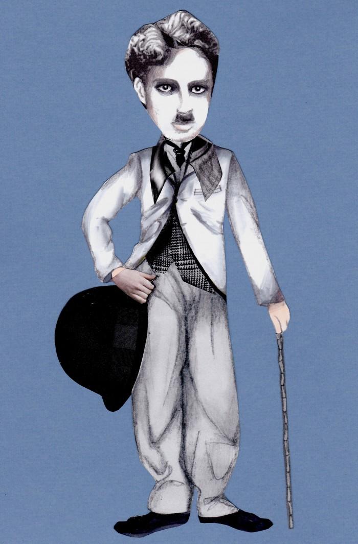 Chaplin_Tramp Erscheinung